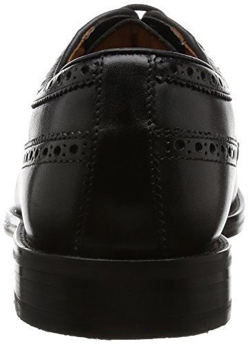 Leather Black Stringate Limit Clarks Nero Uomo Derby Coling Scarpe qO4vA