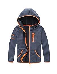M2C Boys Soft and Cozy Full Zip Polar Fleece Hoodie Jacket