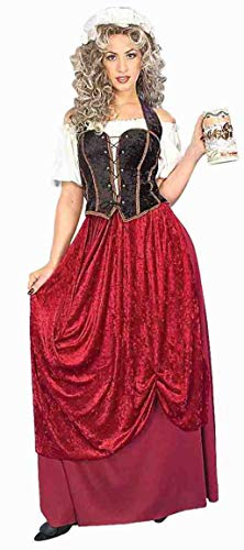 Forum Novelties Women's Olde Time Tavern Wench Costume, Multi, Standard