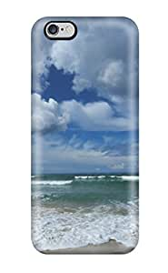 Hot Tpu Cover Case For Iphone/ 6 Plus Case Cover Skin - Clouds And Beaches