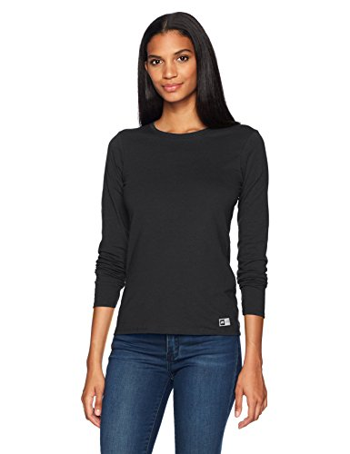 Russell Athletic Women's Essential Long Sleeve Tee, Black, (Russell Athletic Wear Women)