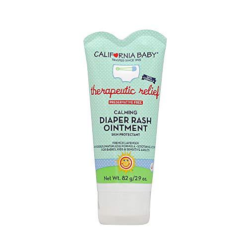 California Baby Calming Diaper Rash Ointment, White