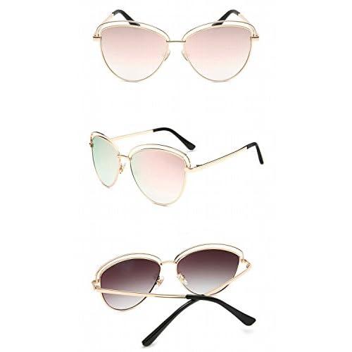 7bb11c69f4 Gafas de Sol Unisex de Las Gafas de Sol de la Solapa Del Marco Grande de
