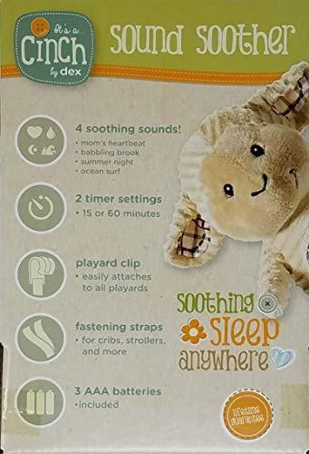 Cinch dexbaby Mini Lamb Sleep Aid Womb Sound Soother w/Playard and