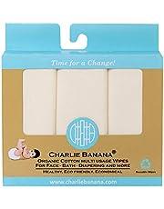 Charlie Banana 10 Organic Cotton Wipes