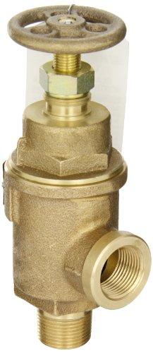 Kunkle 0019-D10-MG0050 Bronze Liquid Relief Valve, 50 Preset Pressure, 3/4