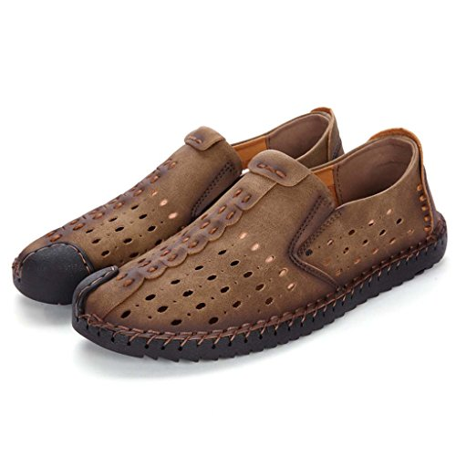 ZXCV Zapatos al aire libre Zapatos ocasionales para hombre, zapatos ocasionales respirables, zapatos de la tendencia D