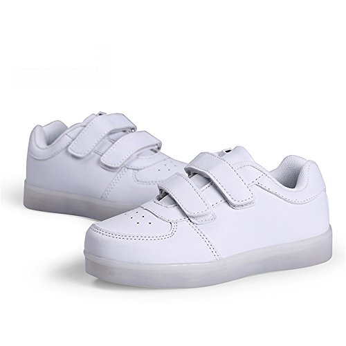 MOREMOO Light up Shoes LED Shoes Boys Girls Dance Shoes for