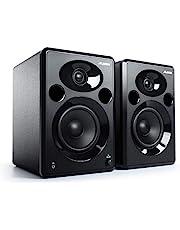 Alesis Elevate 5 MKII - 80W Desktop Studioluidsprekers (paar) met subwooferuitgang voor thuisstudio, videobewerking, gamen en mobiele apparaten, zwart