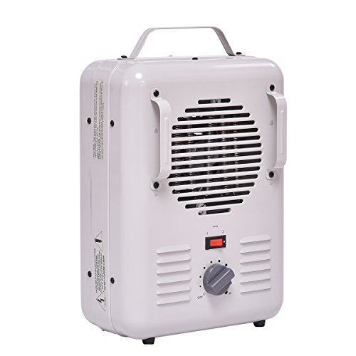 Tangkula 1500W Electric Portable Quart Heater Thermostat Room Air Heating Wall by Tangkula