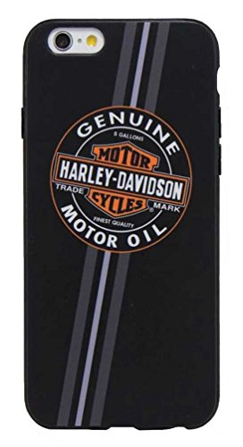 Harley-Davidson Men's Genuine Motor Oil B&S iPhone 6/6S Phone Shell, Black 7821