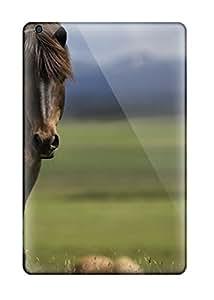 OygpexX1601DRCGH Tpu Phone Case With Fashionable Look For Ipad Mini/mini 2 - Horse