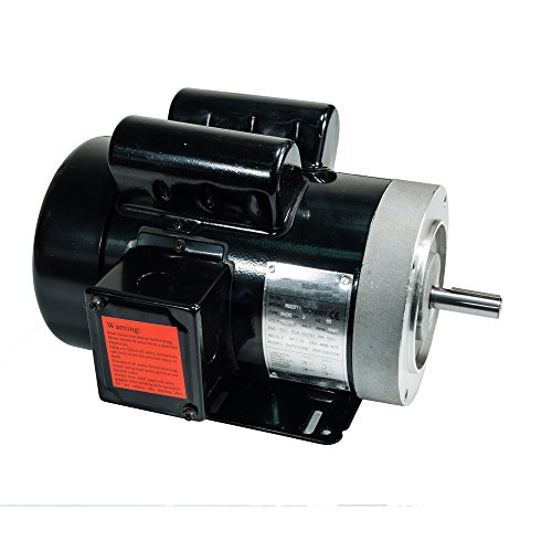 2 HP Electric Motor 56C Frame 5/8