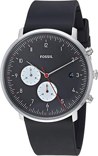 Fossil Men's Chase - FS5484 Black One Size (Fossil Outlet)