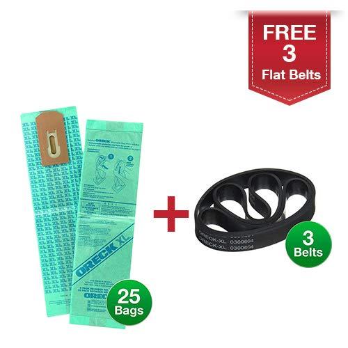 oreck bags belts - 3