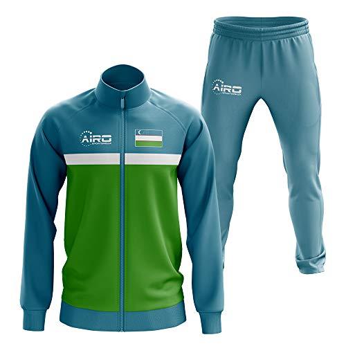 Airosportswear Uzbekistan Concept Football Tracksuit (Sky)