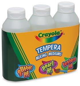 Crayola Tempera Mixing Medium Paint Variety Pack - 8 oz - 3