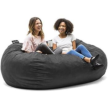 Amazon Com Big Joe Xl Fuf Foam Filled Bean Bag Chair