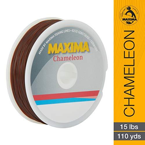 Maxima Fishing Line Mini Pack, Chameleon, 15-Pound/110-Yard