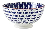 Torre & Tagus 910549L Kiri Porcelain 6-Inch Medium Fish Bowl