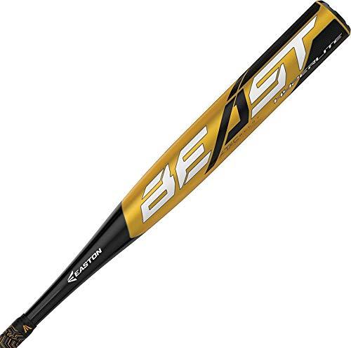 "EASTON Beast Hyperlite -12 (2 1/4"") USA Youth Baseball Bat   29 inch / 17 oz   2019   1 Piece Aluminum   ATAC Alloy   Lizard Skin Grip"