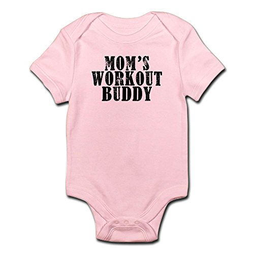 CafePress Workout Buddy Infant Bodysuit