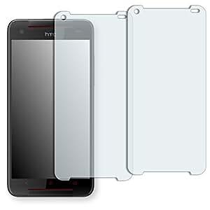 "2 x Golebo protector para pantalla para HTC Butterfly S TD-LTE ""Crystal Clear"", invisible. Fabricado en Alemania"
