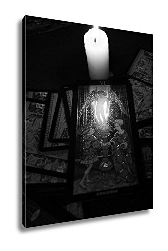 Ashley Canvas Divination By Tarot, Kitchen Bedroom Living Room Art, Black/White 30x24, AG6514084 by Ashley Canvas