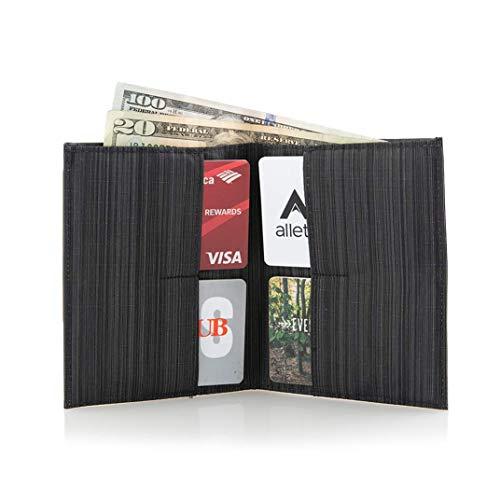 Allett Slim Leather Original Wallet - Black