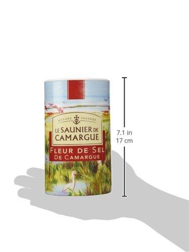 Le Saunier De Camargue Fleur De Sel Sea Salt (Round Box), 35.2 Ounce by Le Saunier De Camargue