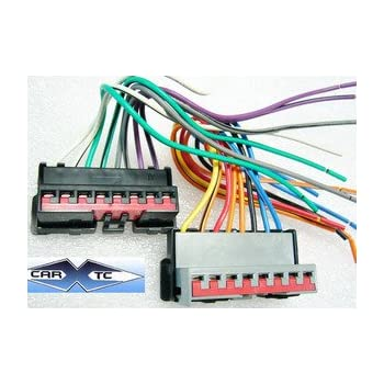 amazon com stereo wire harness ford mustang 94 95 96 97 98 99 car rh amazon com Ford Stereo Wiring 2006 Mustang Stereo Wiring