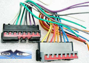 41TeYP6PKAL amazon com stereo wire harness oem ford mustang 93 1993 (car Aftermarket Radio Harness Diagram at soozxer.org