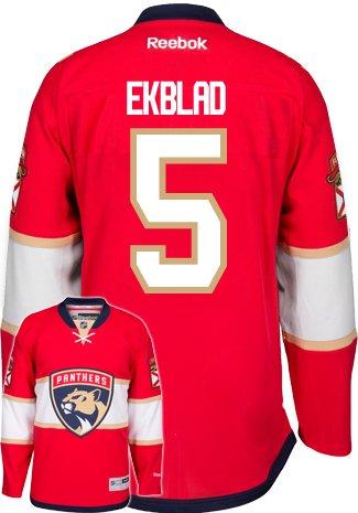 Aaron Ekblad New Florida Panthers Reebok Premier Home Jersey NHL Replica