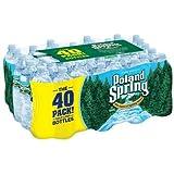 Poland Spring 100% Natural Spring Water (16.9 oz. bottles, 40 pk.) (pack of 6)