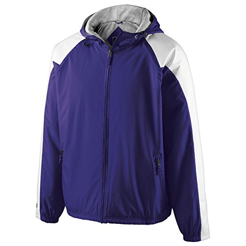 MEN'S HOMEFIELD JACKET Holloway Sportswear M Purple/White
