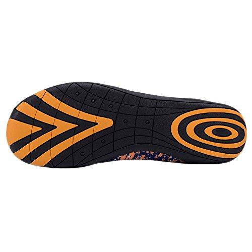 Zapatos De Agua Para Mujer Para Hombre Wave Pool Beach Swim Aqua Socks Yoga Unisex Ejercicio Deportivo Slip On Para Santimon Yellow