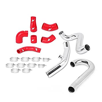 Mishimoto Mitsubishi Lancer Evolution 7/8/9 Intercooler Pipe Kit (mmicp-evo-01rd), rojo (mmicp-evo-01rd): Amazon.es: Coche y moto