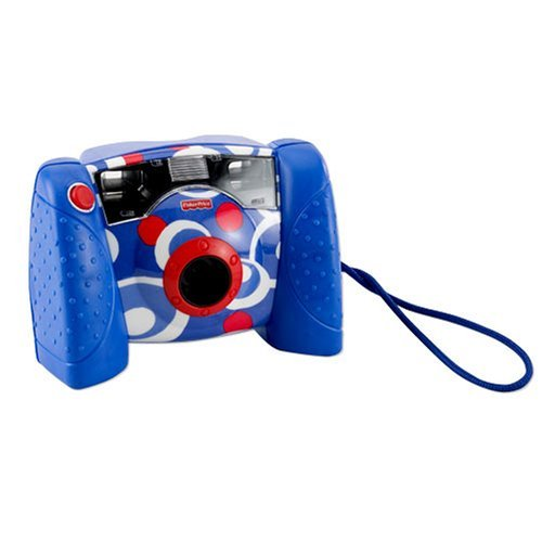 Fisher Price Kid-Tough Digital Camera Blue w/ BONUS 20 Free Prints ()