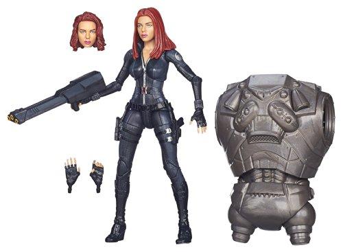 41TecbyNgXL Marvel Legends Infinite 6 Inch Action Figure Captain America Winter Soldier - Black Widow