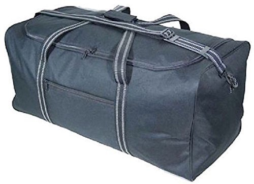 "Large 30""/75cm 100 Litres Lightweight Black Sports Holdall Travel Storage Cargo Overnight Padlockable Bag GH-3130"