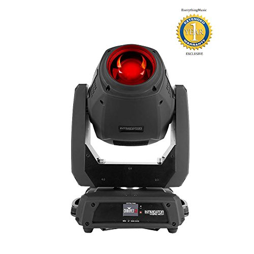 Chauvet DJ Intimidator Hybrid 140SR 140-watt Motorized Stage Light with 1 Year Free Extended Warranty