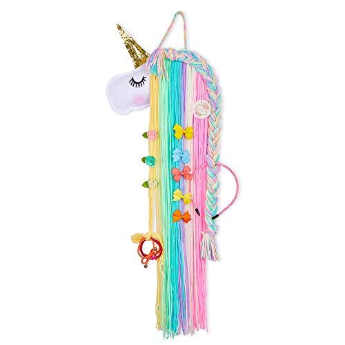 QtGirl Unicorn Hair Bow