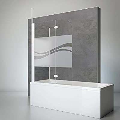 Schulte 4060991021619 comodidad Mampara para bañera, Alpin de ...
