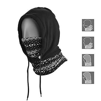 Topnaca Face Cover Neck Warmers Hood Mask Balaclava Hat 3860aec4f998