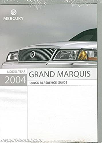 2004 mercury grandmarquis om 2004 mercury grand marquis owners rh amazon com 2004 mercury grand marquis repair manual 2004 Mercury Grand Marquis Problems