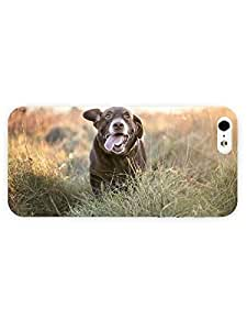 3d Full Wrap Case for iPhone 5/5s Animal Happy Dog55