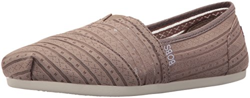 Urban Flat (Skechers BOBS from Women's Plush-Urban Rose Flat, Urban Rose Taupe, 7.5 M US)