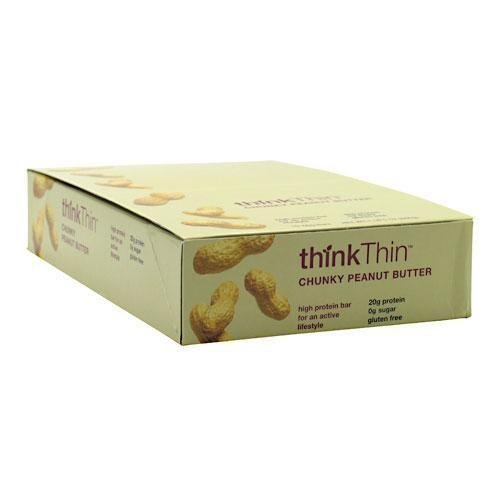 Think Thin Chunky Peanut Butter, 5 Bars
