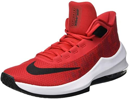 Nike Air Max Infuriate 2 Mid Men's Basketball Shoes, Red