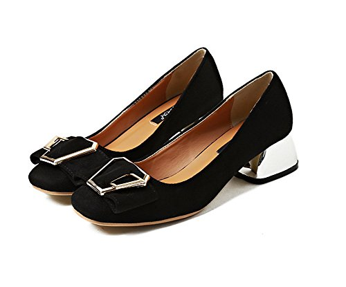 Sandalias 1to9mmsg00226 Cuña Mujer Negro Con 8wqw6C
